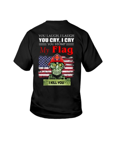 Firefighters shirt You laugh I laugh
