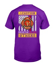Firefighters Does not play with others Classic T-Shirt tile