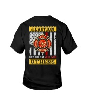 Firefighters Does not play with others Youth T-Shirt thumbnail