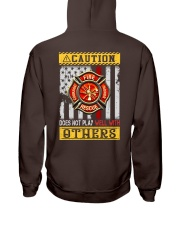 Firefighters Does not play with others Hooded Sweatshirt thumbnail