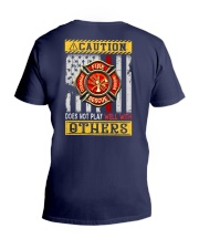 Firefighters Does not play with others V-Neck T-Shirt thumbnail