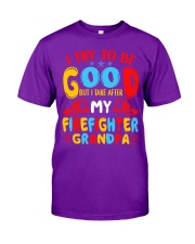 I take care of my firefighter grandpa  Classic T-Shirt thumbnail