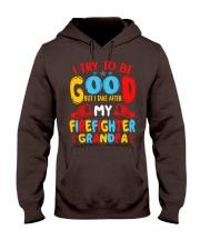 I take care of my firefighter grandpa  Hooded Sweatshirt thumbnail