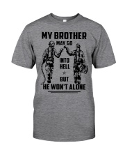Veteran shirt We might be out  Classic T-Shirt front