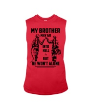 Veteran shirt We might be out  Sleeveless Tee tile