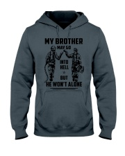 Veteran shirt We might be out  Hooded Sweatshirt tile