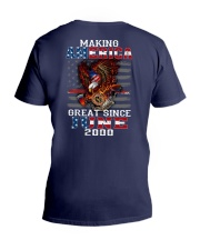 Making America Great since June 2000 V-Neck T-Shirt thumbnail