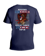 Making America Great since June 1949 V-Neck T-Shirt tile