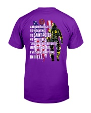 Firefighter shirt And when he gets to  Classic T-Shirt tile