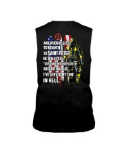 Firefighter shirt And when he gets to  Sleeveless Tee thumbnail