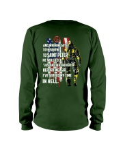 Firefighter shirt And when he gets to  Long Sleeve Tee thumbnail