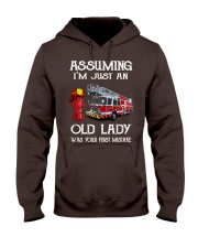 I'm just an old lady Hooded Sweatshirt thumbnail