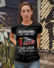 I'm just an old lady Ladies T-Shirt apparel-ladies-t-shirt-lifestyle-03