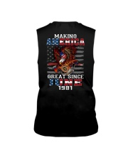 Making America Great since June 1981 Sleeveless Tee thumbnail