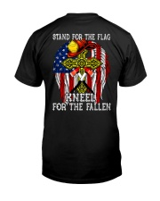 Firefighter shirt Stand for the flag  Classic T-Shirt back