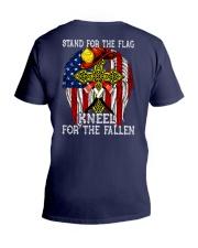 Firefighter shirt Stand for the flag  V-Neck T-Shirt thumbnail