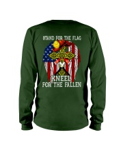 Firefighter shirt Stand for the flag  Long Sleeve Tee thumbnail