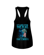 Kneel for the Cross  Ladies Flowy Tank thumbnail