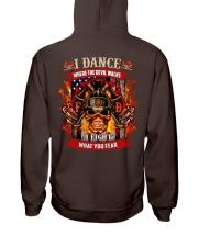 I dance where the devil walks Hooded Sweatshirt thumbnail