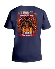 I dance where the devil walks V-Neck T-Shirt thumbnail
