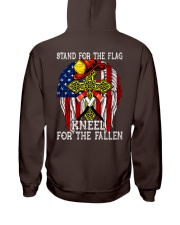 Firefighter shirt Stand for the flag  Hooded Sweatshirt thumbnail