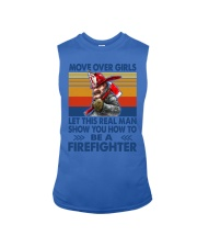 This real man show you how to be a Firefighter Sleeveless Tee thumbnail
