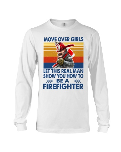 This real man show you how to be a Firefighter