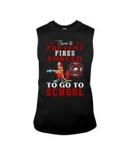 to go to school  Sleeveless Tee thumbnail