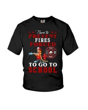 to go to school  Youth T-Shirt front