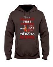 to go to school  Hooded Sweatshirt thumbnail