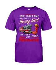 Firefighter Once upon a time  Classic T-Shirt thumbnail