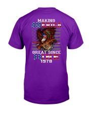 Making America Great since June 1978 Classic T-Shirt tile