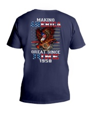 Making America Great since June 1958 V-Neck T-Shirt thumbnail