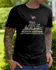 Firefighters Believe  Classic T-Shirt lifestyle-mens-crewneck-front-7