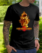 Firefighter shirt In memory of Our Fallen Brothers Classic T-Shirt lifestyle-mens-crewneck-front-7
