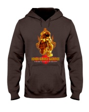 Firefighter shirt In memory of Our Fallen Brothers Hooded Sweatshirt thumbnail