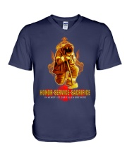 Firefighter shirt In memory of Our Fallen Brothers V-Neck T-Shirt thumbnail