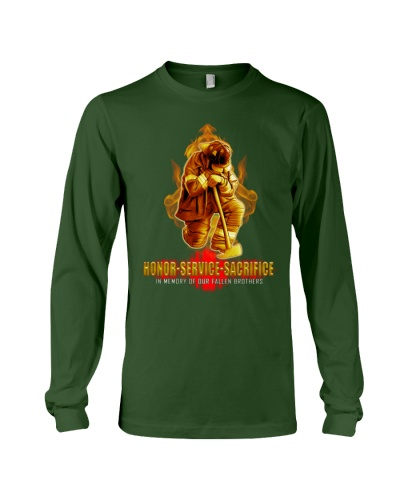 Firefighter shirt In memory of Our Fallen Brothers