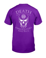 Firefighters smile back  Classic T-Shirt tile