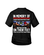 In memory of  Youth T-Shirt thumbnail