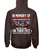 In memory of  Hooded Sweatshirt thumbnail