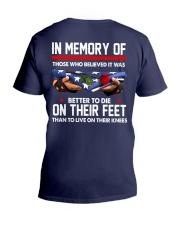 In memory of  V-Neck T-Shirt thumbnail