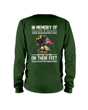 Firefighter shirt In memory of  Long Sleeve Tee thumbnail