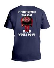 If firefighting was easy  V-Neck T-Shirt thumbnail