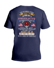 The firefighter will open the gates of V-Neck T-Shirt thumbnail