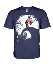 Firefighter nightmare V-Neck T-Shirt thumbnail
