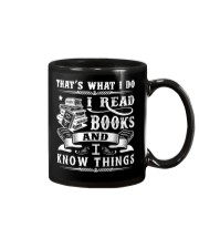 I Read Books And I Know Things Mug thumbnail