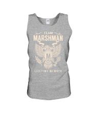 Team MARSHMAN - Lifetime Member Unisex Tank thumbnail