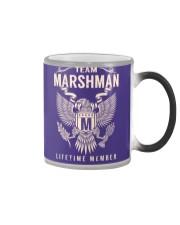 Team MARSHMAN - Lifetime Member Color Changing Mug thumbnail