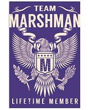 Team MARSHMAN - Lifetime Member 11x17 Poster thumbnail